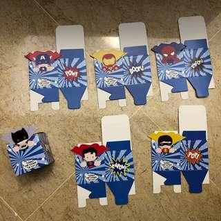 Mini Superhero Gift Box - Party Supplies