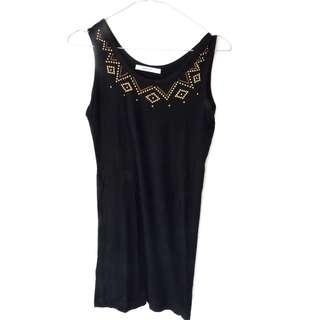 Zara Black Basic Top