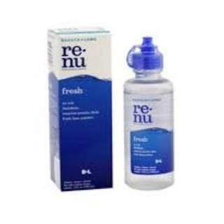 Bausch & Lomb Renu Fresh Multipurpose Solution 120 ml