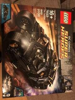 全新未開 Lego 76023 UCS Batman tumbler