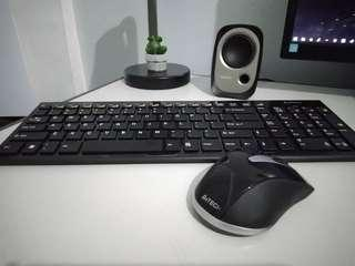 A4TECH Wireless Keyboard and Mouse Combo