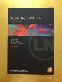 Lecture Notes - General Surgery 12th Ed