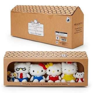 日本新貨: Hello Kitty新系之Box Set公仔