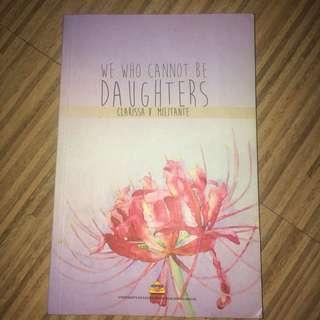 We who Cannot Be Daughters