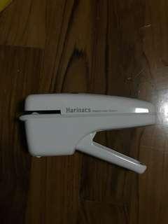 Harinacs staple-less stapler white colour