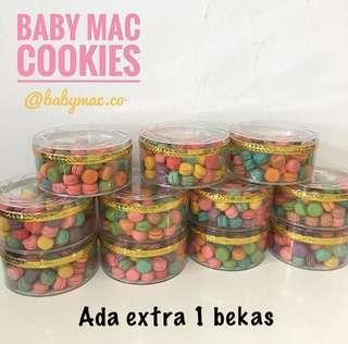 Baby mac cookies/ baby macarons
