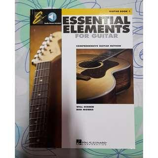🚚 Essential Elements For Guitar