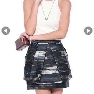 Love Bonito Sashelle Foldover Origami Skirt