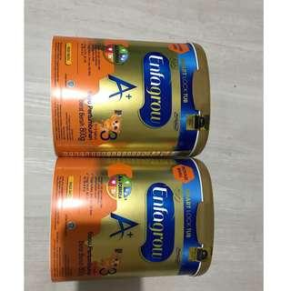 Enfagrow 800 gram rasa MADU masih segel expired lama