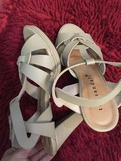 💕Heels nude The Sandal's