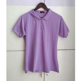 Lavender Polo Shirt for Women