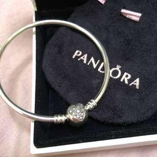 Pandora Heart of Winter Bangle Bracelet