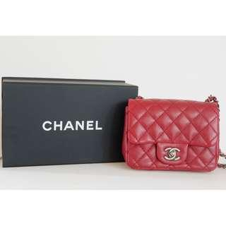 Chanel Mini Red (AUTHENTIC) PRE LOVED