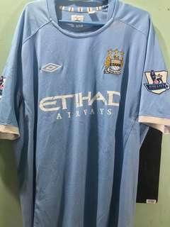 Diadora Manchester City Carlos Tevez Jersey XXL