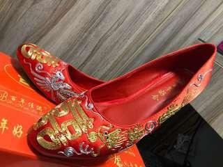 結婚繡花鞋 婚後物資