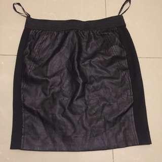 PVC + cotton skirt from U.K. 🇬🇧