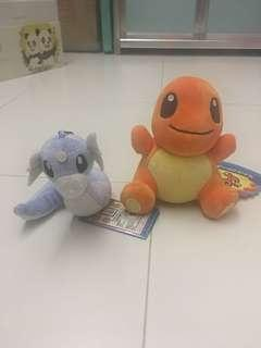 Pokemon plushie and keychain