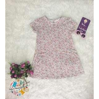 Flower dress size :  perkiraan usia 5 th