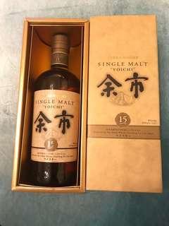 日果余市15年單一麥芽威士忌