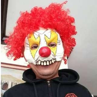 Halloween Mask Killer Clown Mask
