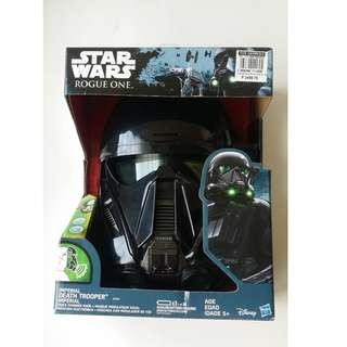 Halloween Mask Starwars Imperial Deathtrooper Electronic Mask