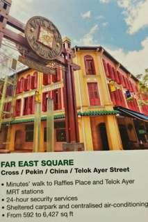 Far East Square Offices for RENT
