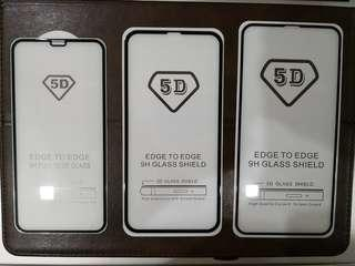 5D Tempered Glass Protector for iP X, Xs, Xs Max & Xr