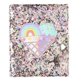 💯Original Smiggle Dreamy Small Lockable Notebook