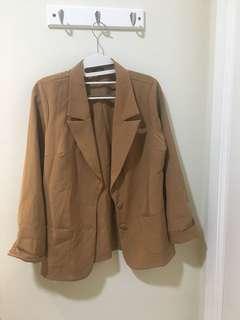 Pre loved Cloth Inc Oversized Brown Blazer