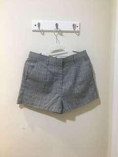 NEW Pomelo Fashion Plaid Grey Shorts