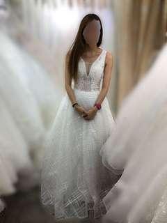訂造款拖尾婚紗
