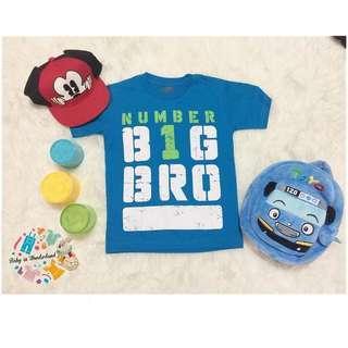 VIGGO KIDDO Tshirt blue size : perkiraan usai 8th (LD 35cm, P 50cm) , perkiraan usia 10th (Ld 37cm P52cm)