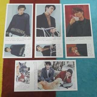 EXO Postcard isi 180 item ready stock