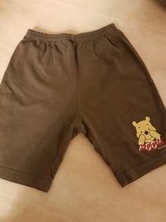 pooh disney shorts 12~18m