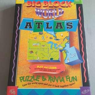 Big Block World Atlas