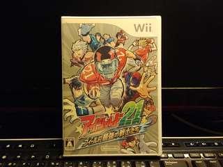 (全新) Wii Game - アイシールド21 フィールド最強の戦士たち