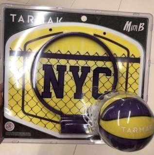 Mini basketball with hoop
