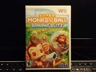 (全新) Wii Game - Super Monkey Ball (Banana Blitz)