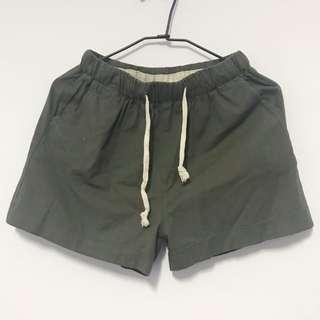 🚚 全新棉麻短褲