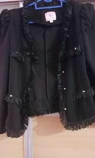 Black Jacket by House of Doll