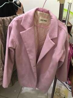 淺粉紅少女外套
