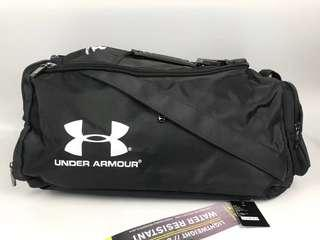 Free home delivery In stock Under Armour back pack school bag gym sack  duffle bag