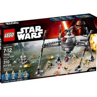 LEGO Star Wars 75142 Homing Spider Droid (with Yoda Minifigure)