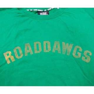ROADDAWGS 綠色T恤