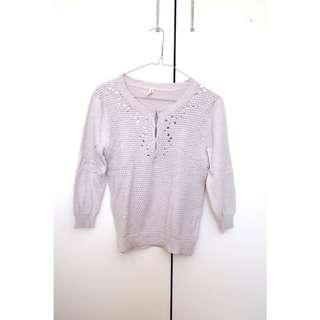 Knitted Blouse Top
