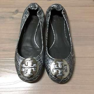 Authentic tory burch reva flat shoes
