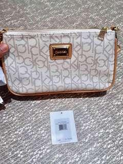 💯Authentic Calvin Klein Shoulder Bag with Price Tag