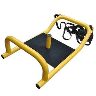 Crossfit Power Sled : ZANFIT Power Sled with Harness