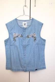 Bellfield UK denim top