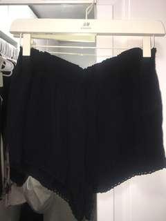 Slinky Black Shorts